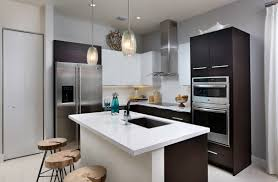 modern living kitchens landmark condominium model a modern living dream kitchen