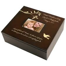 personalized box mothers day personalized keepsake box keepsake memory box