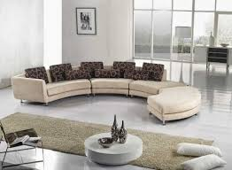 Curved Couch Sofa Curved Sectional Sofa For Small Living Room Choosing Leather