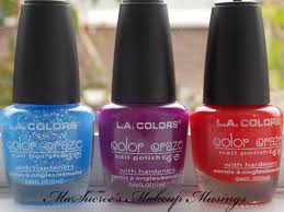 l a colors cosmetics color craze 2012 selection u2013 miss t u0027s makeup