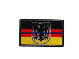 What Colors Are The German Flag Polizei Patch Thin Line Bracelets