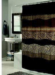 animal print bathroom ideas bathroom ensembles shower curtains ideas with popular bath