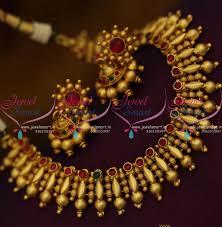 kerala earrings nl9198 matte gold plated fancy kerala design kemp necklace jhumka