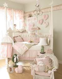 Pink And Green Nursery Decor Entrancing Image Of Unique Baby Nursery Room Decoration Ideas