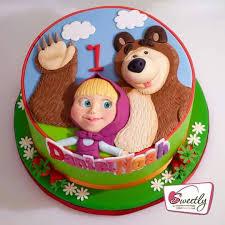 237 images bear cakes cake masha