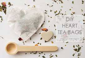 heart shaped tea bags diy heart shaped tea bags pretty prudent