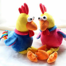 new year toys 2017 new year mascot luck rooster stuffed animals dolls plush