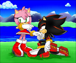 shadamy aka shadow and amy as a couple sonic video game