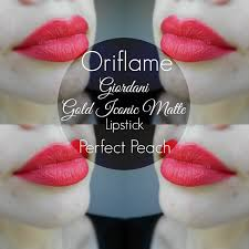 Bedak Za oriflame giordani gold iconic matte lipstick matte