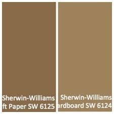 cardboard and craft colors sherwin williams sherwin williams