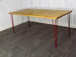 vintage hairpin table legs hairpin leg dining table vintage kitchen dining table industrial