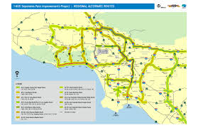 Map De Los Angeles by 405 Closure Question How Bad Is Traffic Going To Be The Source