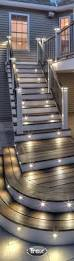 best ideas about deck post lights with under rail lighting