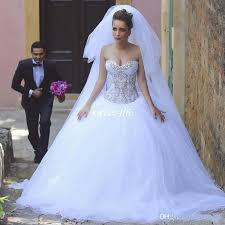 bling bling sweetheart wedding gowns ball gown corset vintage