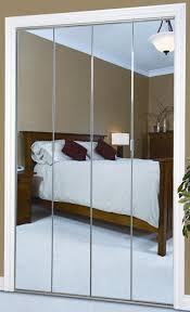 Mirror Bifold Closet Door Modern Minimalist Bifold Mirrored Closet Doors Without Frame With