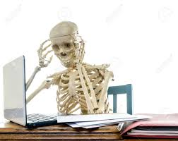 Skeleton Computer Meme - skeleton computer blank template imgflip