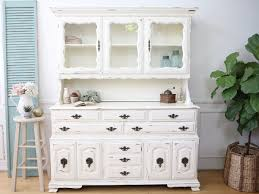 shabby chic french provincial vintage hutch cabinet no94