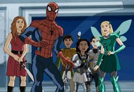 ultimate spider man web warriors to crossover with disney
