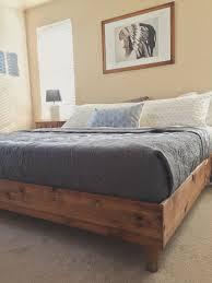 bedroom cheap diy bed frame diy platform bed ideas diy king bed
