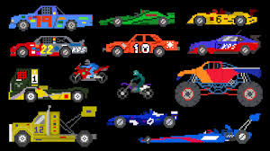 monster truck racing video sports vehicles racing cars u0026 trucks the kids u0027 picture show