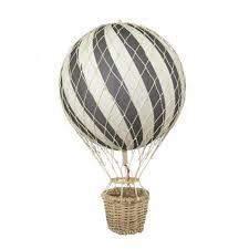 heißluftballon kinderzimmer filibabba kinderzimmer dekoration heißluftballon grau 20cm