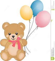 teddy balloons teddy flying balloons stock images image 26705544