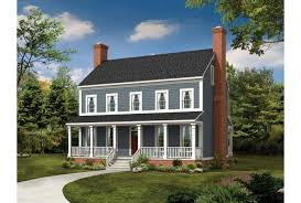 colonial farmhouse plans eplans country house plan sweeping covered porches 2203 square
