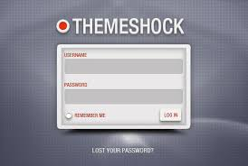 20 useful login page template free psd files the design work