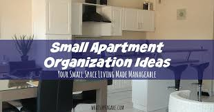 Storage Ideas For A Small Apartment Small Apartment Organization Ideas