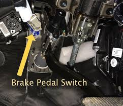p0571 cruise control brake switch a circuit malfunction
