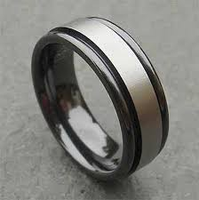 mens wedding rings uk two tone mens wedding ring online in the uk
