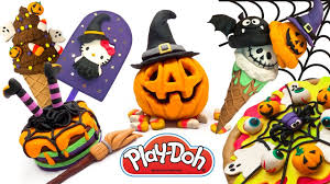 halloween diy compilation of halloween crafts for kids play doh
