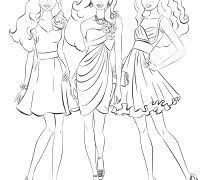 trend barbie coloring pages online free 24 on line drawings with