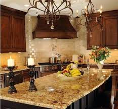 Decorating Above Kitchen Cabinets Pictures Tuscan Style Decorating With Antique Cabinet And Kitchen Island