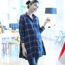 Maternity Plaid Shirt Popular Blouses Pregnant Buy Cheap Blouses Pregnant Lots From