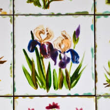 Decorating With Tiles Simple Ceramic Tile Painting Ideas Adding Artworks To Interior