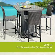 outdoor pub table sets patio furniture sacramento outdoor pub table set with bar stools