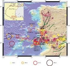Generic Mapping Tools Educating For Earthquake Science And Risk In A Tectonically Slowly