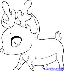 how to draw chibi rudolph step by step chibis draw chibi anime