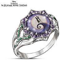 nightmare before christmas wedding rings the nightmare before christmas magic at midnight ring