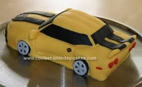 bumblebee cakes coolest transformer bumblebee car cake