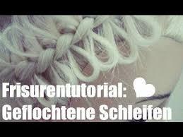 Frisuren Anleitung Schleife by Frisurenelement Geflochtene Schleifen