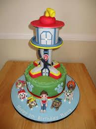 paw patrol tower cake e1443428389456 529 705 parties