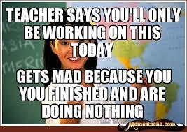 Unhelpful Highschool Teacher Memes - memestache unhelpful highschool teacher image memes at relatably com