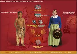 thanksgiving interactive you are the historian plimoth plantation