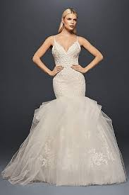 style wedding dresses mermaid trumpet wedding dresses david s bridal