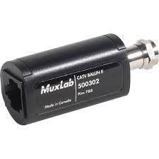 muxlab 500302 catv balun ii 500302 b u0026h photo video