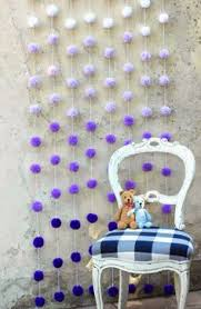 Purple Ombre Curtains Purple Ombre Pom Pom Cupcake Cake Toppers Set By Dyanismemorybox