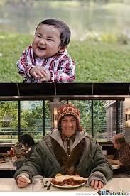 Evil Kid Meme - evil kid all grown up by le mao meme center