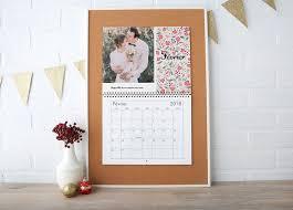 calendrier bureau personnalisé calendrier personnalisé 2018 calendriers photo vistaprint